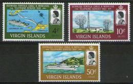0vir VIRGIN ISLAND 1967 - Yv. 181/3 - 3 Val.  Mint MNH (**)                            VIERGES - Iles Vièrges Britanniques