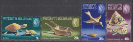 PITCAIRN Is, 1980 HANDICRAFTS 4 MNH - Timbres