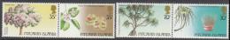 PITCAIRN Is, 1983 TREES  PAIRS(HORIZONTAL) MNH - Francobolli