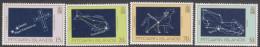 PITCAIRN Is, 1984 NIGHT SKY 4 MNH - Francobolli