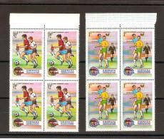 FOOTBALL Munich 1974 / GRENADA GRENADINES Lot De 2 Blocs Neufs ** De 4 Timbres - Coppa Del Mondo