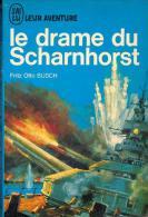 No PAYPAL !! : Fritz Otto Busch Le Drame Du Scharnhorst , J´AI LU BLEU Leur Aventure A 90 Livre Guerre * TTBE/NEUF 1966 - Geschichte