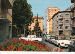 C-2519 Cartolina Sassuolo - Via Pretorio - Auto D'epoca Parcheggiate - Modena