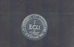 1 ECU De BETTANCOURT - LA - FERREE . 2 000 Exemplaires . - Euros Of The Cities