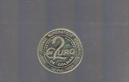 2 EURO De COLMAR . 600 Exemplaires . - Euros Of The Cities