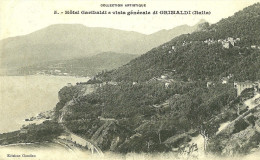 Autres Villes. Grimaldi. Hotel Garibaldi E Vista Generale Di Grimaldi. - Altre Città
