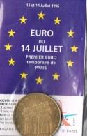 2 EURO De PARIS . Sapeurs-Pompiers . 150 000 Exemplaires . Avec Plaquette Sous Plastique . - Euros Of The Cities