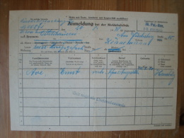 Rückkehrgenehmigung Nach Bremen-Oslebshausen 20.8.1948 ! - 1939-45