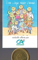EURO De SAINT - LAURENT - DU - VAR  . N° 297 / 1 000 Exemplaires . Avec Plaquette Sous Plastique . - Euros Of The Cities