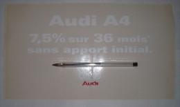 Publicité Autocollante Audi A4 - Cars