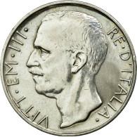 Monnaie, Italie, Vittorio Emanuele III, 10 Lire, 1928, Rome, TTB, Argent - 1900-1946 : Vittorio Emanuele III & Umberto II