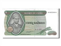 [#107877] Zaïre, 5 Zaïres Type Mobutu - Zaire