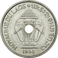 Monnaie, Lao, Sisavang Vong, 20 Cents, 1952, SUP+, Aluminium, Lecompte:5 - Laos