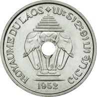 Monnaie, Lao, Sisavang Vong, 20 Cents, 1952, FDC, Aluminium, KM:E2, Lecompte:5 - Laos