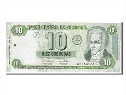 [#107844] Nicaragua, 10 Cordobas Type M. Larreynaga - Nicaragua
