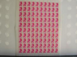 Feuilles Complètes De 100 Timbres N°2486a, Avec Bande De Phosphore à Droite - Feuilles Complètes