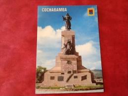 Bolivia Cochabamba. Monument Of The Coronilla - Bolivie