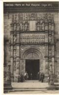 POSTAL   SANTIAGO DE COMPOSTELA  (ESPAÑA)  - PUERTA DEL REAL HOSPITAL (SIGLO XVI) - Santiago De Compostela