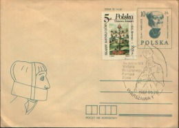 1987 POLSKA WARSZAWA - Cartas