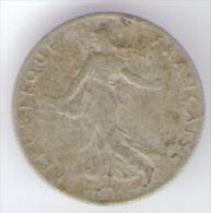 FRANCIA 50 CENTIMES 1912 AG SILVER - Francia