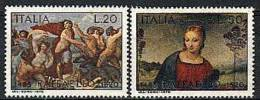 1970 - 1118/19 Raffaello Sanzio - 6. 1946-.. Republik