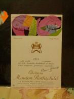 éttiquettes Chateaux Monton Rothschild 1975 1987 1988 1989 - Unclassified