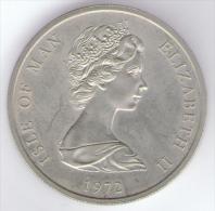 ISLE OF MAN 25 PENCE 1972 - Monete Regionali