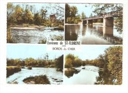 CSM: 18 - Saint Florent Sur Cher : Les Bords Du Cher - Multivues ( 4 ) - Saint-Florent-sur-Cher