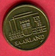 50 CENT 1954 TTB/SUP 12 - Sarre (1954-1955)