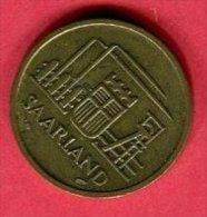 20 CENT 1954 TTB 5 - Sarre (1954-1955)