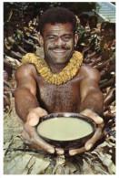 (PH 9) RTS Or DLO -  Fiji To Australia - Men At Yagona Ceremonie - Fiji