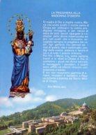 Oropa - Santino Cartolina SANTUARIO DI OROPA 2004 - OTTIMO G41 - Religione & Esoterismo