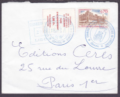 France - Sur Lettre Grève Libourne N° 6 Obl 1968 - Cote 70 Euros - Prix De Départ 30 Euros - Grève