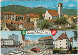 Knittelfeld 645 M: OPEL REKORD-C, RENAULT 4, VW KÄFER/COX, MERCEDES HECK - Austria/Österreich - Turismo