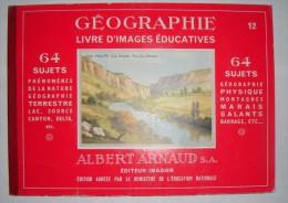 Livre D'images éducatives : Géographie  -  Utilisables Comme Bon Point Sans Doute - Old Paper