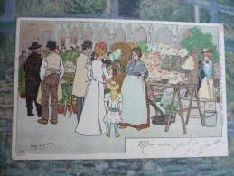 Marché Aux Fleurs - Lynen, Amédée-Ernest