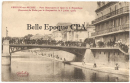 55 - VERDUN - Concours De Pêche Par La Goujonnière, Le 5 Juillet 1908  ++ Martin-Colardelle + RARE / JAMAIS Sur Delcampe - Verdun