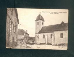 Chassey Les Montbozon (70) - Mairie Et  Eglise (Ed. C.L.B) - France