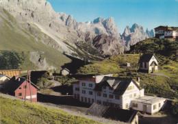 DOLOMITI - PASSO ROLLE   /  Alberghi Con Le Pale Di S. Martino _ Viaggiata - Trento