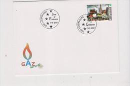 Luxembourg Sur FDC Le Gaz Naturel - Petrolio