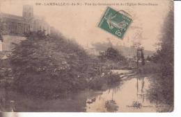 Lamballe  Vue Du Gouessant Et De L Eglise Notre Dame  Le Lavoir - Lamballe