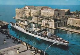 """NAVE  """"CENTAURO """"   /  Marina Militare Italiana   _ Viaggiata - Guerra"""