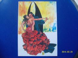 1 CARTOLINA    DI  MILO  MANARA  ( IL PIACERE DI ESSERE.....) 5 - Milo Manara Strips