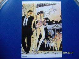 1 CARTOLINA    DI  MILO  MANARA  ( LE  DECLIC ) 4 - Milo Manara Strips