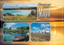 Co Mayo, Ireland Eire Postcard Used Posted To UK 2005 Stamp - Mayo