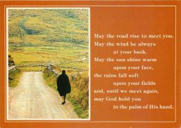 Autumn And Poem, Ireland Eire Postcard - Other