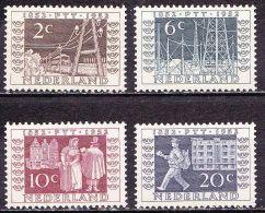 1952 I.T.E.P. Serie NVPH 592 / 595 Ongestempeld - Periode 1949-1980 (Juliana)