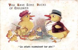 Poussins Humanisés : You Have Some Ducks Of Children  - Chicks  - Pollito - Poussin Chick - Humour Comique Series London - Animaux & Faune
