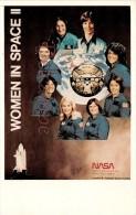 NASA : Women In Space II - Johnson Space Center Of Houston - Mary Cleave , Bonnie Dunbar Etc.  - Astronauts Astronaute - Mestieri