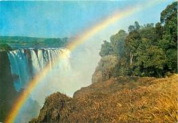 Victoria Falls, Zimbabwe Postcard - Zimbabwe